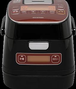 「カロリー計算モード」搭載の炊飯器 アイリスオーヤマ IHジャー3合炊き KRC-ID30-R