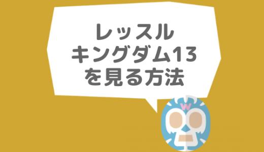 レッスルキングダム13東京ドームを見る方法まとめ|新日本プロレス