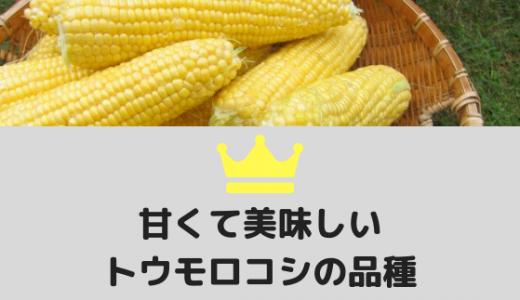 トウモロコシの品種と言えば?甘くて美味しいオススメ10選