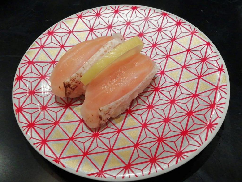 もり一亀戸店焼サーモン