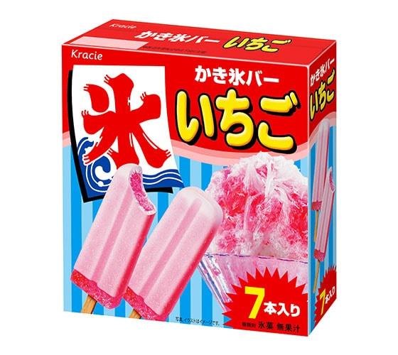 かき氷バー(いちご)